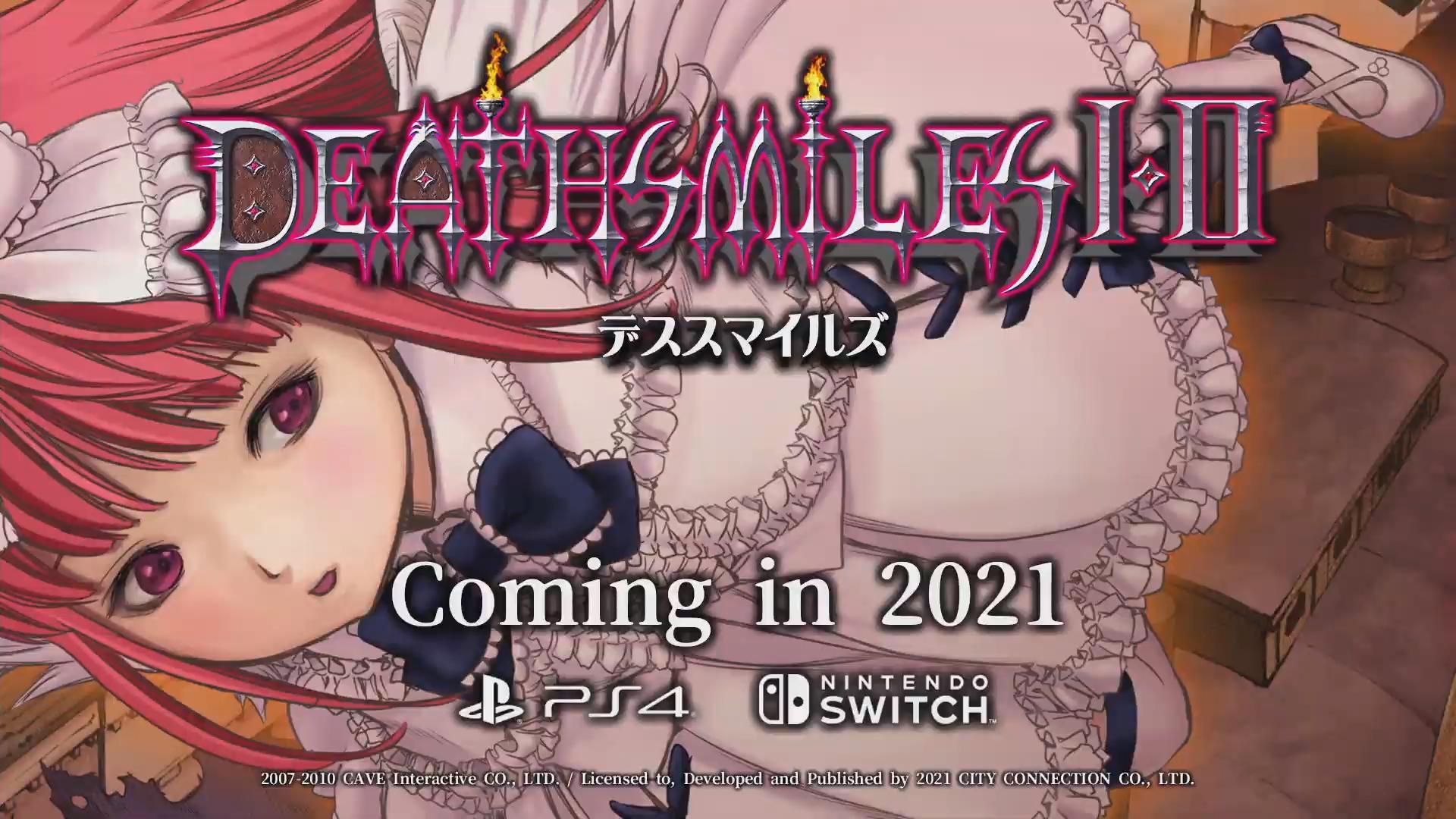 【朗報】「デススマイルズI・II」がPS5、Switch、XBOXで出るぞおおおお!!!!