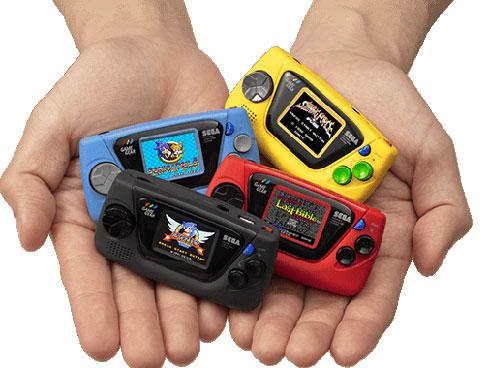 「ゲームギア」発売30周年記念の「ゲームギアミクロ」本日発売!!あのゲーム機より小さいってマ!?www