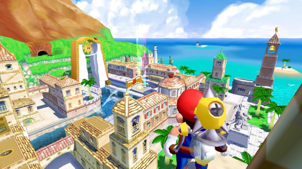 「 スーパーマリオ 3Dコレクション 」の最新アップデートによりカメラ操作のリバースに対応、更に「サンシャイン」のみではあるがゲームキューブコントローラーが使用可能に!!